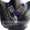 20 Peruvian Alpaca Silver Necklaces w/Stone