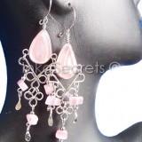 50 Pairs Alpaca Earrings w/Murano glass