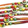 500 Rasta Friendship Bracelets w/Ceramic