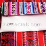 04 Peruvian Ethnic eco leather clutch