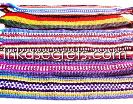 1000 Friendship Bracelets HandWoven Cusco