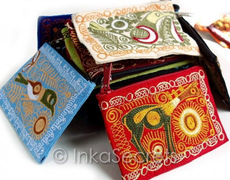 120 Embroidered Coin Purses (ECPRS)