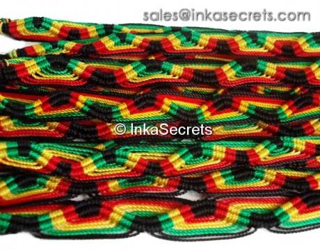 1000 Jamaica Rasta Friendship Bracelets