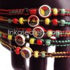1000 Rasta Friendship Bracelets w/Ceramic