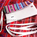 10 Peruvian Ethnic eco leather clutch