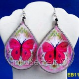 160 Butterfly Thread Earrings (TEBPJ)