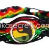 100 Rasta Ceramic Friendship Bracelets