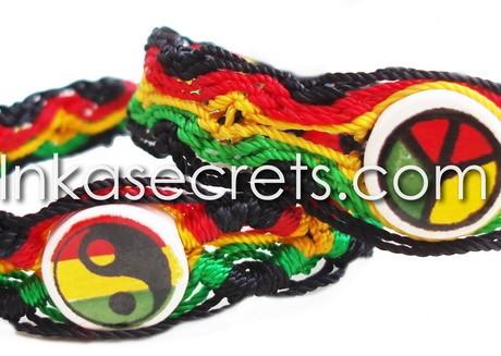 200 Rasta Ceramic Friendship Bracelets
