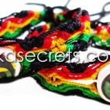 500 Rasta Ceramic Friendship Bracelets