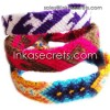 100 Peruvian Cusco Friendship Bracelets