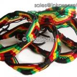 300 Jamaica Rasta Friendship Bracelets