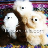 06 Baby alpaca teddy bear small