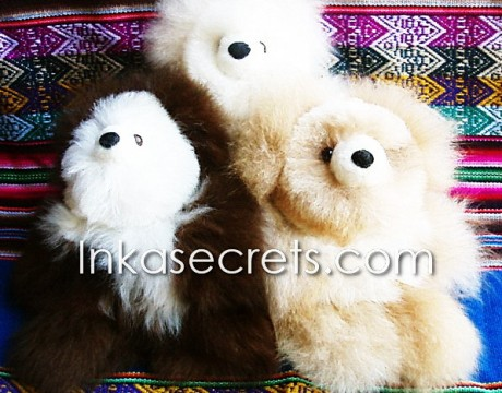 06 Baby alpaca teddy bear small