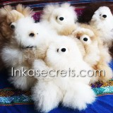 25 Baby alpaca teddy bear small