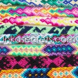 1000 Peruvian Cusco Friendship Bracelets