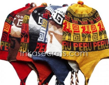 100 Alpaca Chullo Reversible Hat Cusco