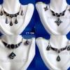 100 Bull's Horn Earrings Necklace Sets