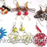 08 Aluminum Wire Earrings