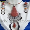 10 Sets Medallions Earrings w/ Stones