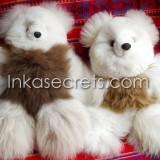 05 Baby alpaca teddy bear, size 12″