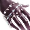03 Alpaca Silver Gravel Bracelets