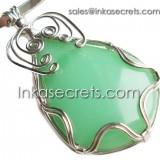 01 Original Green Stone Pendant