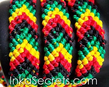 15 Rasta Friendship Bracelets Bob Marley