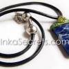 Sodalite stone Necklaces with duropox