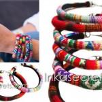 50 Manta Inca textile bracelet etnico