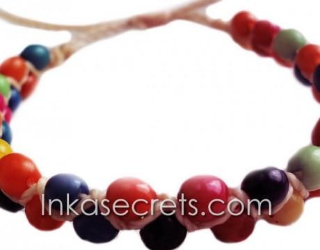 50 Peruvian achira seeds bracelets