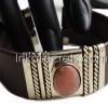 10 Semi-Precious Stone cuff bracelets (cb02)