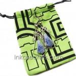 50 Jewelry Pouches, Amazonian Shipibo Fabric.