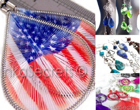 60 Mixed Designs Earrings