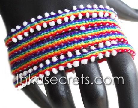 10 Peruvian Watana wrap bracelets