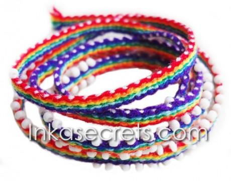 250 Peruvian watana wrap friendship bracelets