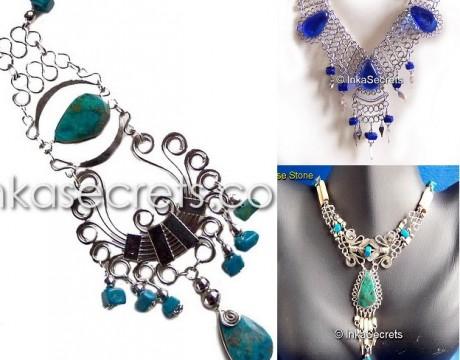 20 Alpaca Silver Necklaces
