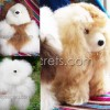06 Baby Alpaca Fur Teddy Bear & Dogs