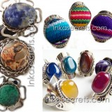 50 Peruvian Mixed design Rings