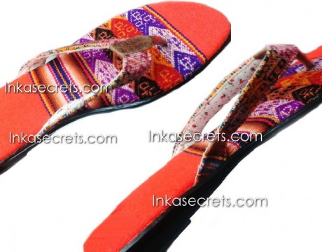 05 Ethnic Peruvian Sandals