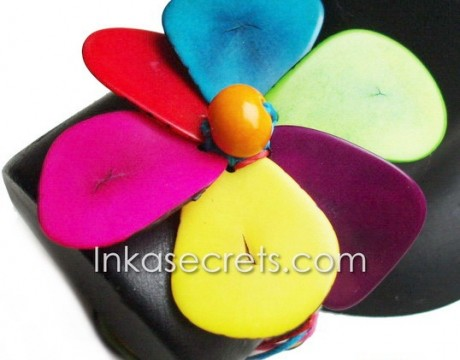30 Flower Tagua Bracelets