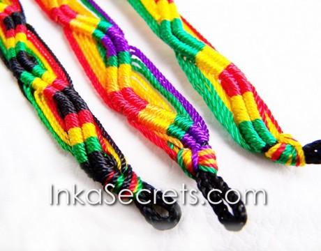 150 Peruvian Friendship Bracelets