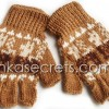 50 Alpaca Peruvian Fingerless Gloves
