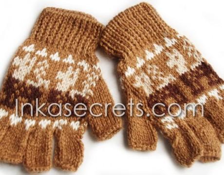50 Alpaca Peruvian Fingerless Gloves