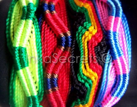 300 Peruvian Friendship Bracelets