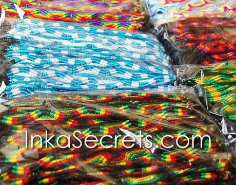 5000 Peruvian Friendship Bracelets