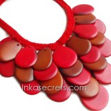05 Tagua beaded necklaces (NKTPJ115)