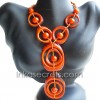 05 Tagua beaded necklaces (NKTPJ120)