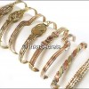 Lot 20 Peruvian 03 Metals Bracelets