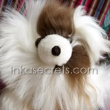 01 Alpaca Suri Brown White Teddy Bears