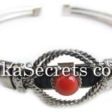 08 Murano Glass Alpaca Silver Bracelets